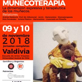WORKSHOP MUÑECOTERAPIA en VALDIVIA 9 Y 10 DE NOV. 2018