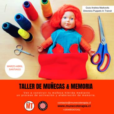 TALLER DE MUÑECAS & MEMORIA MARZO 2019