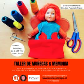 TALLER DE MUÑECAS & MEMORIA 1° DICIEMBRE 2018