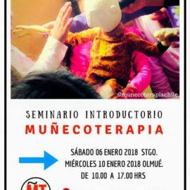 CAMBIO DE FECHAS Seminario Introductorio Muñecoterapia en ENERO 2018