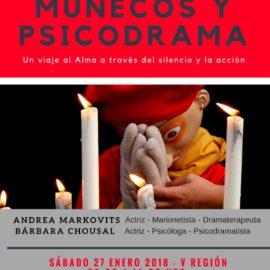 Primer Workshop: MUÑECOS Y PSICODRAMA Enero 2018
