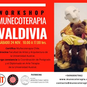 NUEVO: WORKSHOP MUÑECOTERAPIA EN VALDIVIA